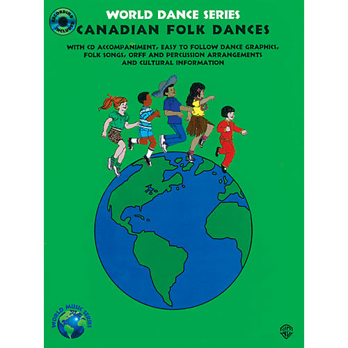Alfred Canadian Folk Dances Book & CD Grades 2-7
