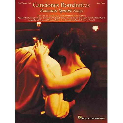 Hal Leonard Canciones Romanticas (Romantic Spanish Songs) For Easy Piano