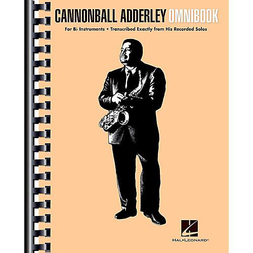 Hal Leonard Cannonball Adderley - Omnibook for B-Flat Instruments