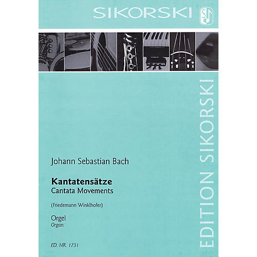 Sikorski Cantata Movements Organ Collection Series