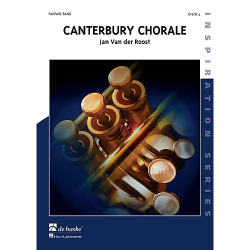 De Haske Music Canterbury Chorale (Score Only) Concert Band Composed by Jan Van der Roost