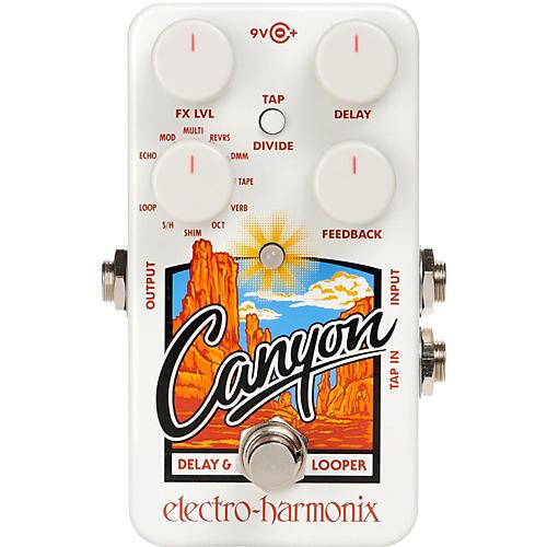 canyon delay  Electro-Harmonix Canyon Delay and Looper Pedal | Guitar Center