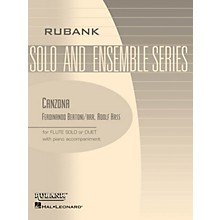 Rubank Publications Canzona (Flute Solo/Duet with Piano - Grade 2.5) Rubank Solo/Ensemble Sheet Series