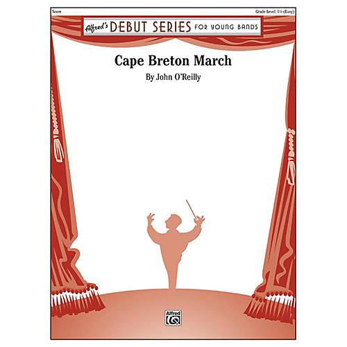 Alfred Cape Breton March Concert Band Grade 1.5