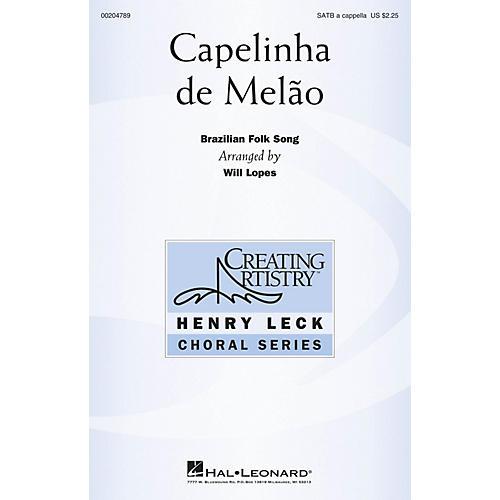 Hal Leonard Capelinha de Melão SATB a cappella arranged by Will Lopes
