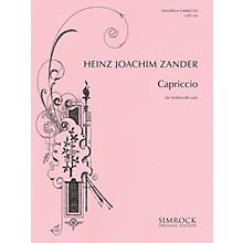 Simrock Capriccio (Cello Solo) Boosey & Hawkes Chamber Music Series