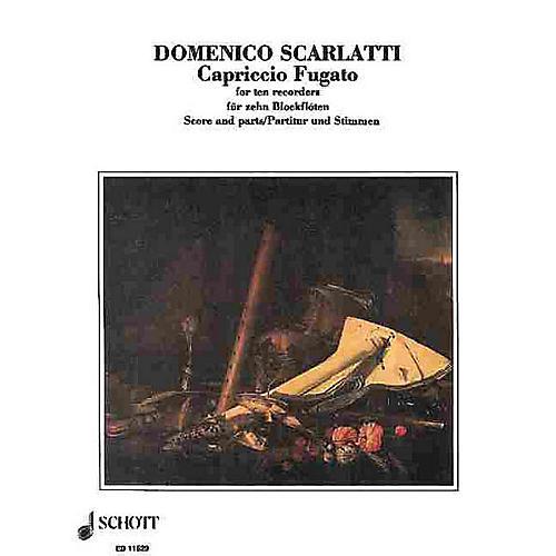 Schott Capriccio Fugato Recorders SAATB