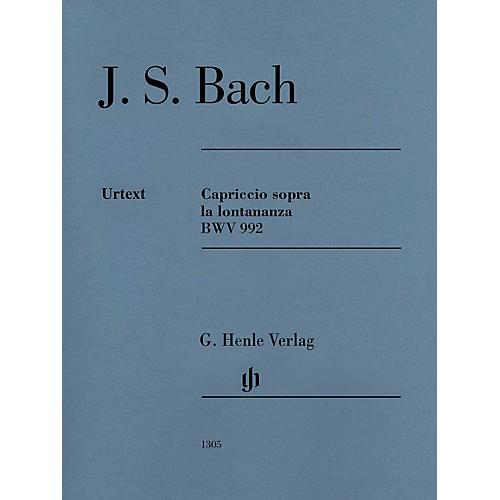 G. Henle Verlag Capriccio Sopra La Lontananza, BWV 992 (Edition with Fingering) Henle Music Folios Series Softcover