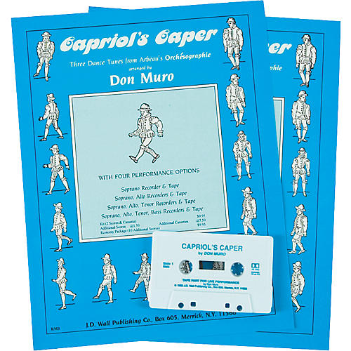 Magnamusic Capriol's Caper 2 Scores with Cassette