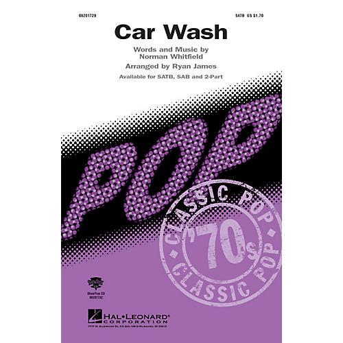 Hal Leonard Car Wash SAB Arranged by Ryan James
