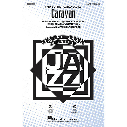 Hal Leonard Caravan SATB arranged by Paris Rutherford