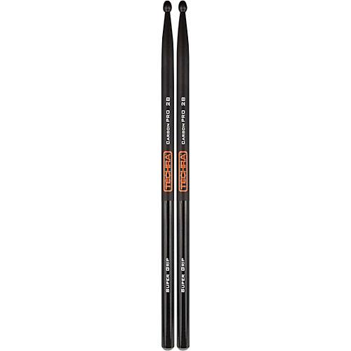 TECHRA Carbon Pro Super Grip Drum Sticks
