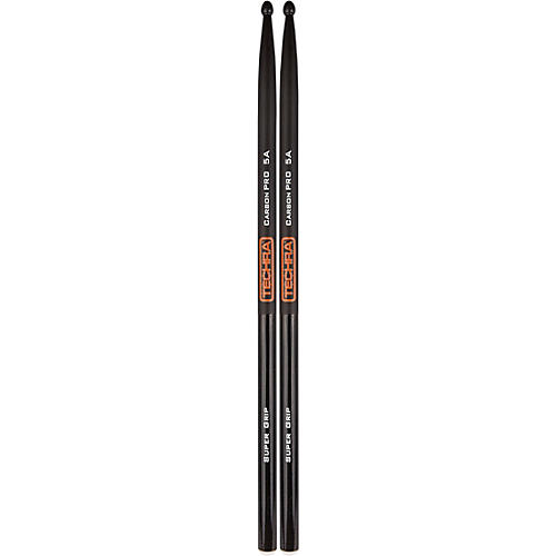 TECHRA Carbon Pro Super Grip Drum Sticks