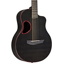 Carbon Series Touring Acoustic-Electric Guitar Red Binding