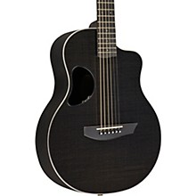 Carbon Series Touring Acoustic-Electric Guitar White Binding