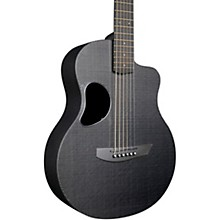 Carbon Touring Acoustic-Electric Guitar Standard Black Gloss Gold Hardware