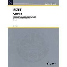 Schott Carmen Ensemble Series Softcover Composed by Georges Bizet Arranged by Siegfried Schwab