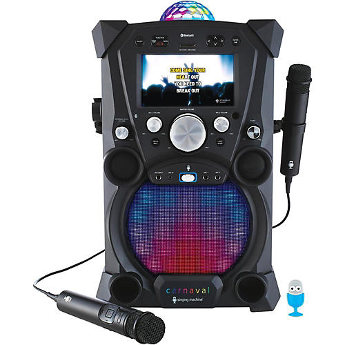 The Singing Machine Carnaval Portable Hi-Def Karaoke System