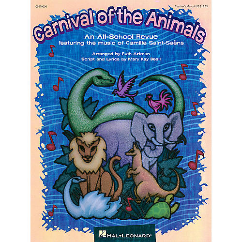 Hal Leonard Carnival of the Animals (Musical) PREV CD Arranged by Ruth Artman