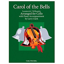Carl Fischer Carol Of The Bells - Cello With Piano Accompaniment