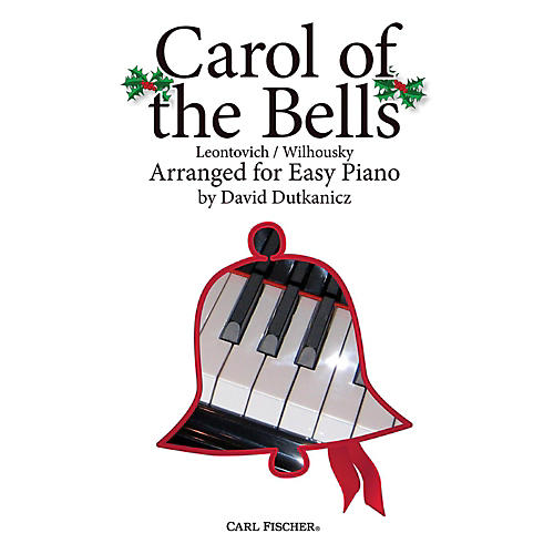 Carl Fischer Carol of the Bells for Easy Piano