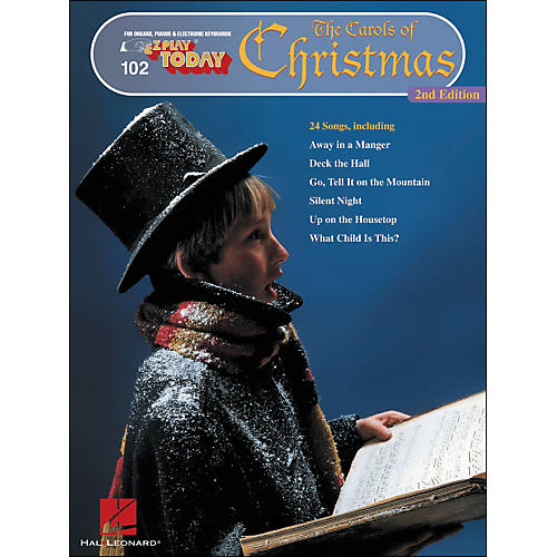 Hal Leonard Carols Of Christmas 2nd Edition E-Z Play 102