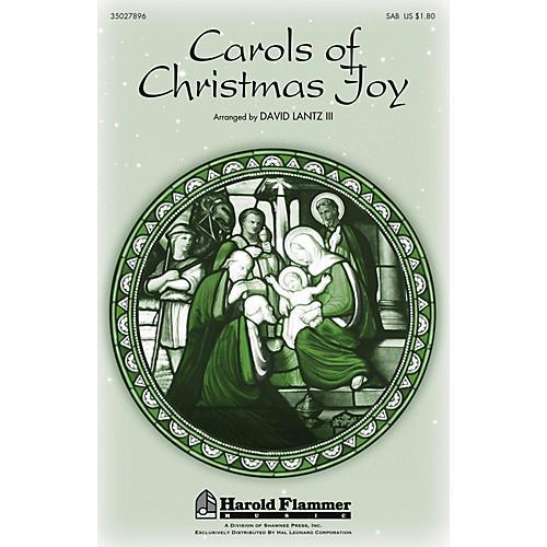 Shawnee Press Carols of Christmas Joy SAB arranged by David Lantz III