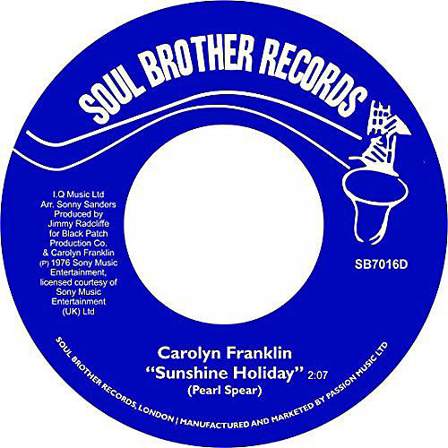 Alliance Carolyn Franklin - Sunshine Holiday / Deal with It