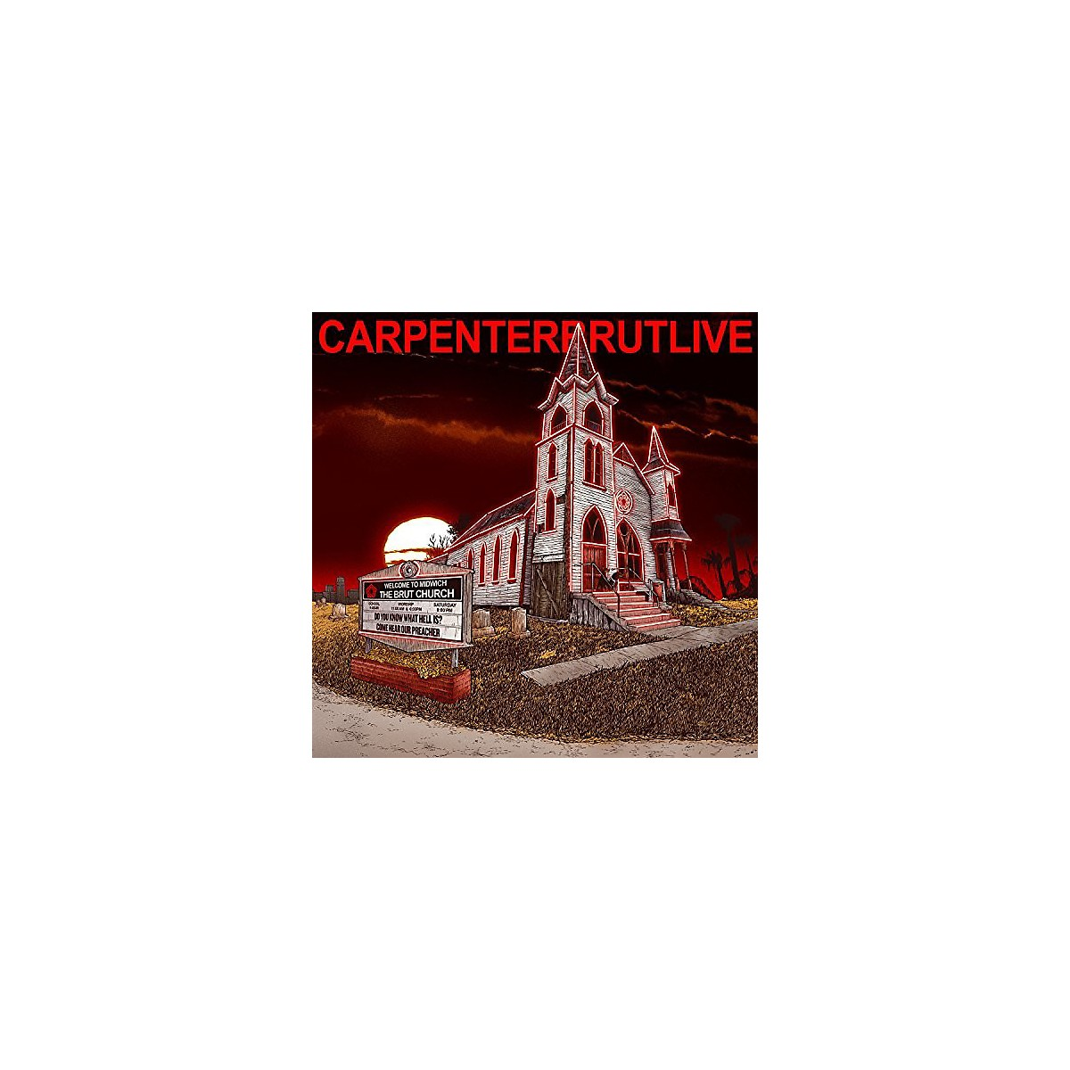 Alliance Carpenter Brut - Carpenterbrutlive
