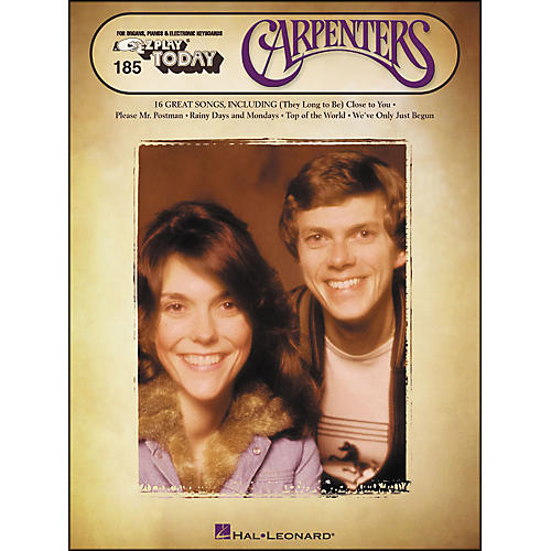 Hal Leonard Carpenters E-Z Play 185