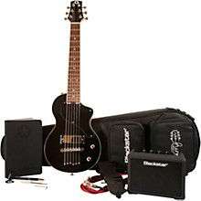 CarryOn Travel Guitar Deluxe Pack with FLY3 Black