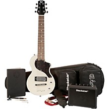 CarryOn Travel Guitar Deluxe Pack with FLY3 White