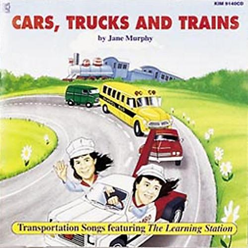 Kimbo Cars, Trucks And Trains CD/Guide