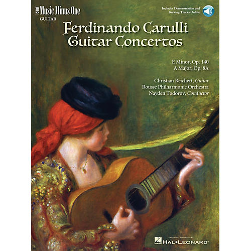 Music Minus One Carulli - Two Guitar Concerti (E Min Op 140 and A Maj Op 8a) Music Minus One BK/CD by Christian Reichert
