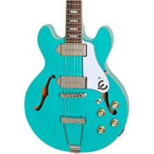 Casino Coupe Hollowbody Electric Guitar Turquoise