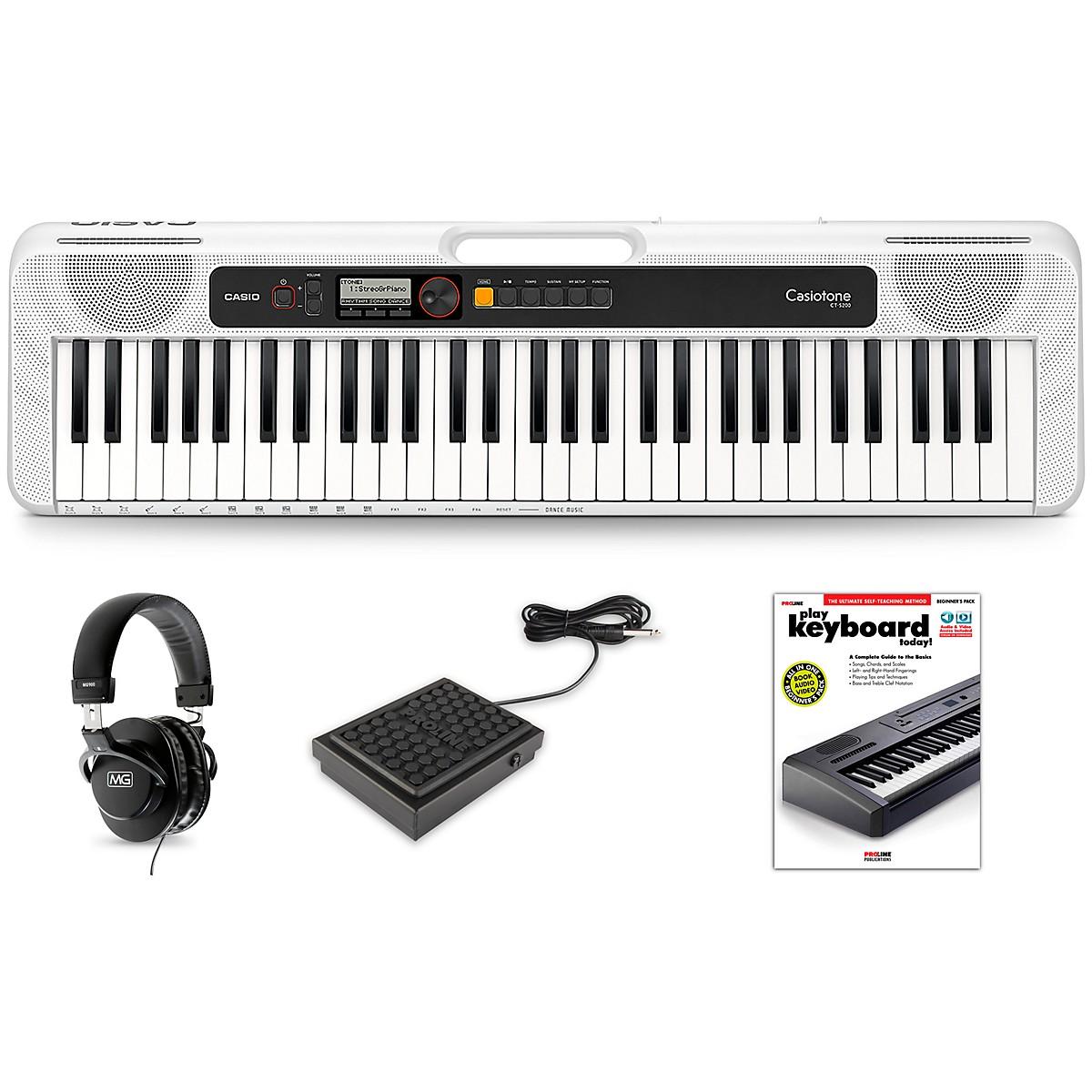 Casio Casiotone CT-S200 Keyboard Essentials Kit