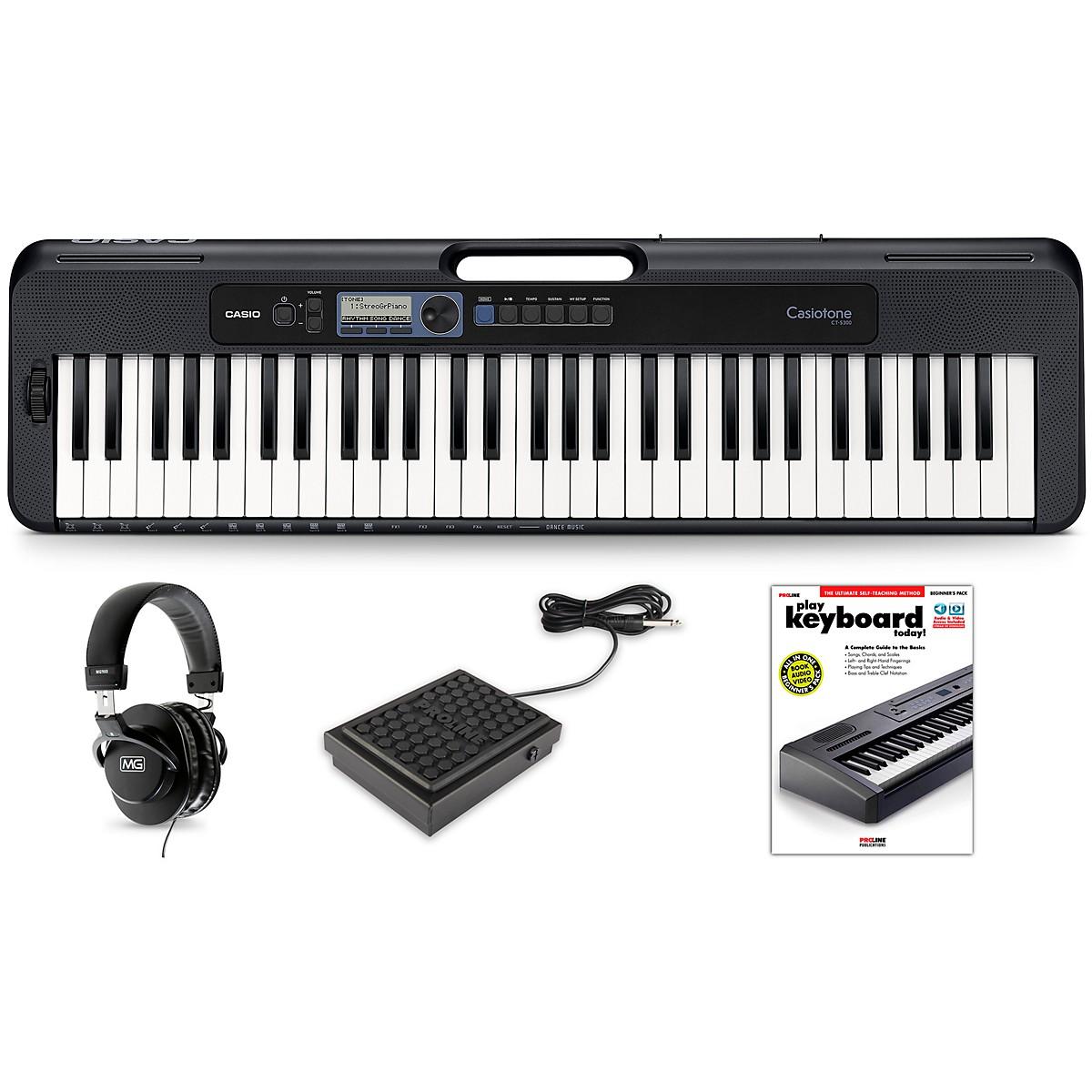 Casio Casiotone CT-S300 Keyboard Essentials Kit