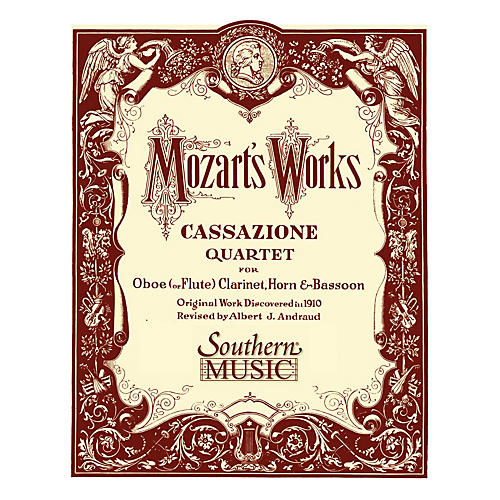 Southern Cassazione (Oboe/Flute, Clarinet, Horn and Bassoon) Southern Music Series Arranged by Albert Andraud