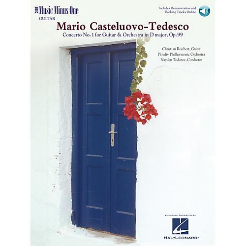 Music Minus One Castelnuovo-Tedesco - Guitar Concerto No. 1 in D Major Op. 99 Music Minus One BK/CD by Christian Reichert