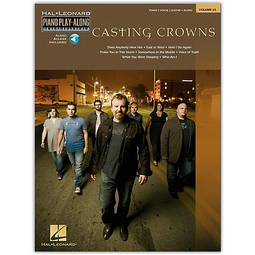 Hal Leonard Casting Crowns Piano Play-Along Volume 65 (Book/Online Audio)