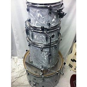 used gretsch drums catalina club series gc anniversary drum kit white swirl guitar center. Black Bedroom Furniture Sets. Home Design Ideas