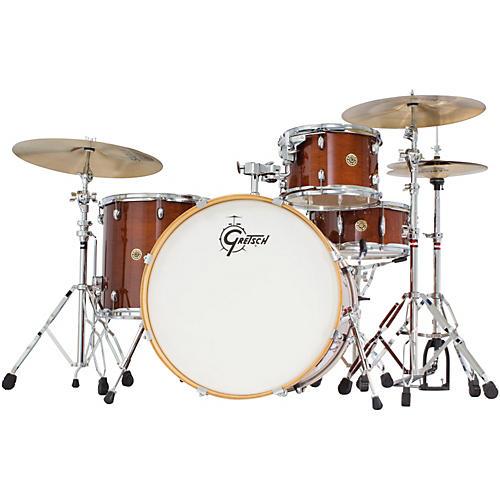 gretsch drums catalina maple 4 piece shell pack with 22 bass drum walnut glaze guitar center. Black Bedroom Furniture Sets. Home Design Ideas