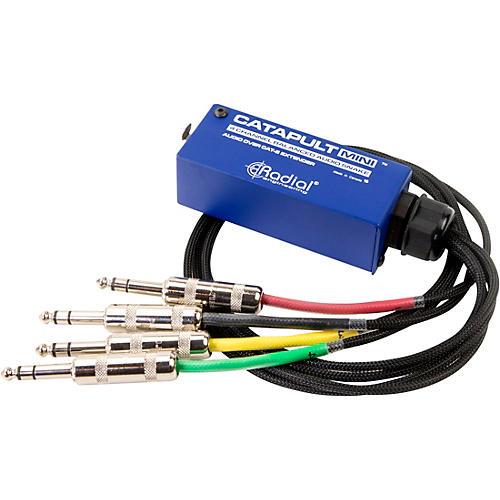 Radial Engineering Catapult Mini TRS 4-Channel Analog Cat 5 Audio Snake