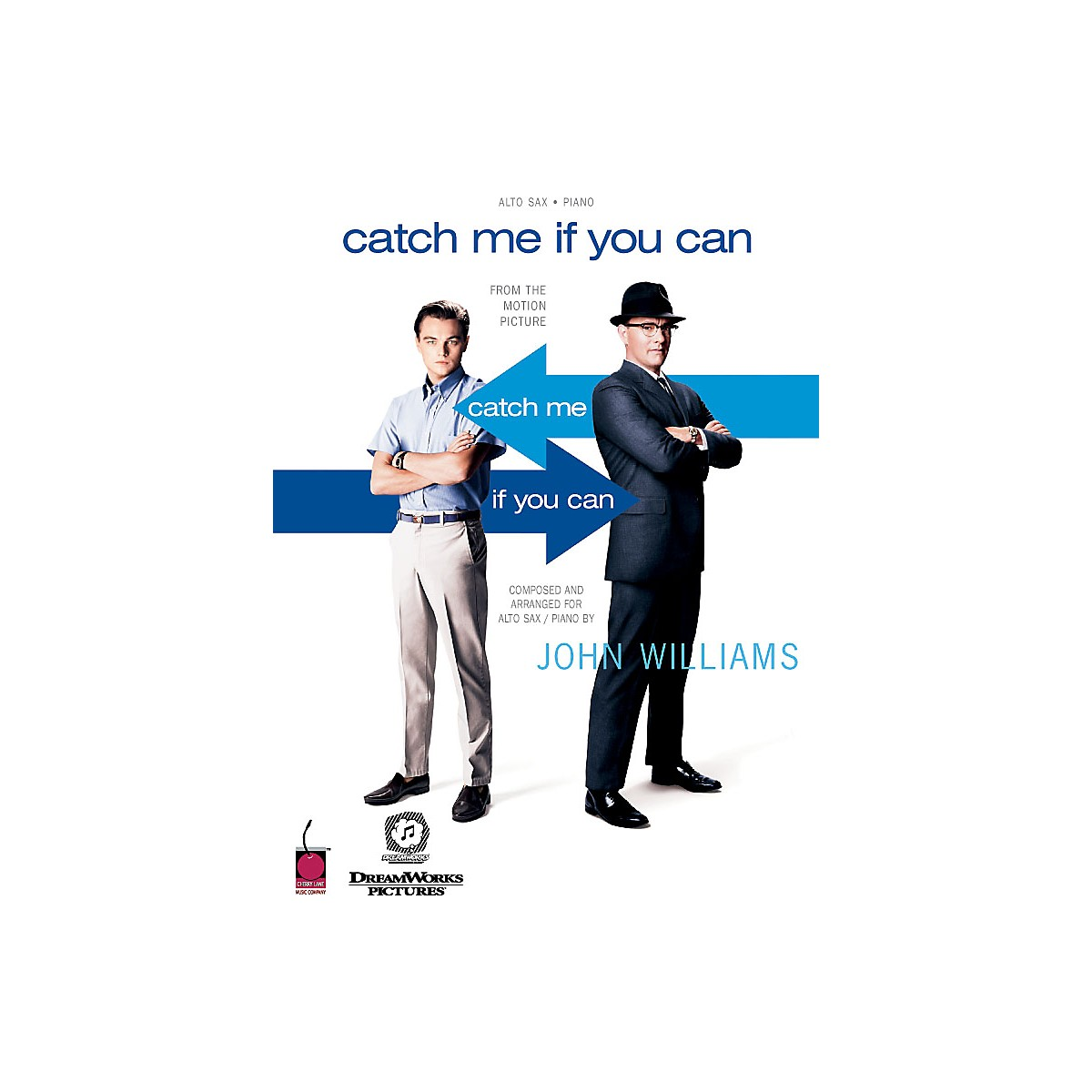 Cherry Lane Catch Me If You Can (Feature for Alto Sax and Concert Band) Concert Band Level 5 Arranged by Jay Bocook