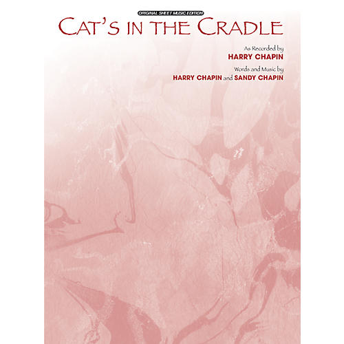 Alfred Cats in the Cradle Sheet Music