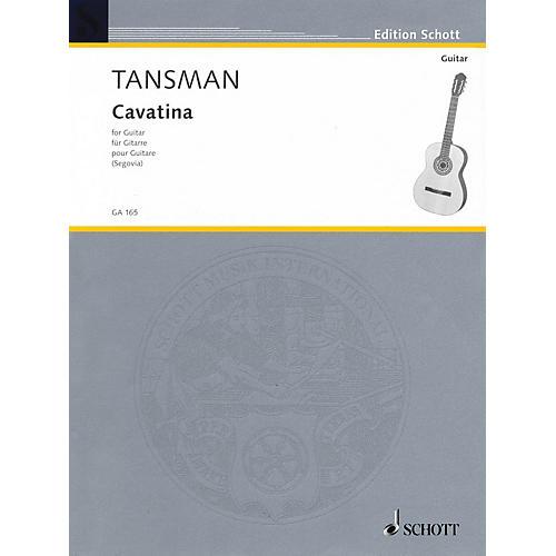 Schott Cavatina (1951) (Guitar Solo) Schott Series
