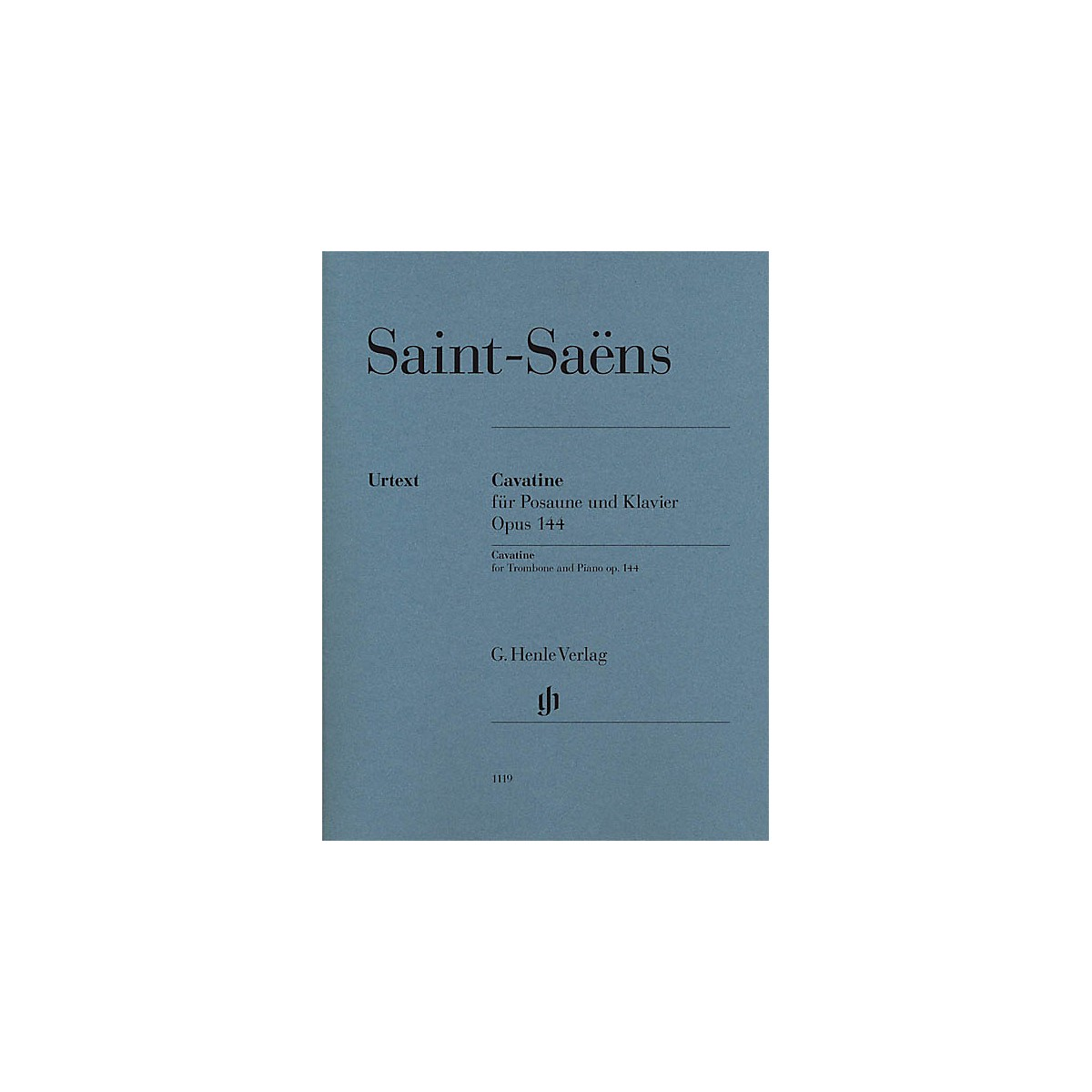 G. Henle Verlag Cavatine, Op. 144 Henle Music Folios Softcover Composed by Camille Saint-Saens Edited by Dominik Rahmer