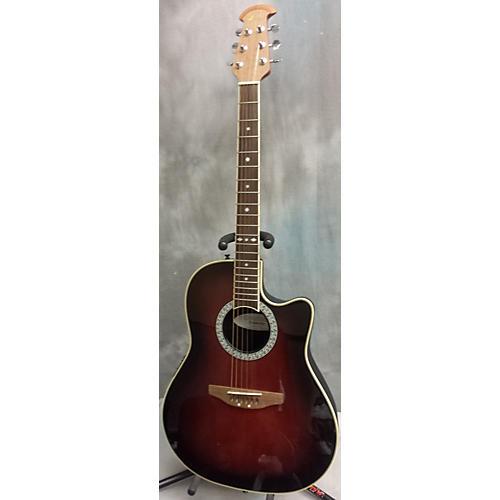 Ovation Cc057 Celebrity Brown Sunburst Acoustic Electric Guitar