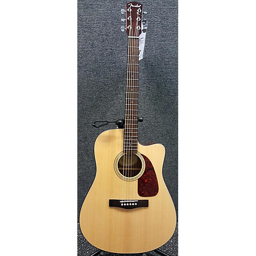 used fender cd 140sce nat acoustic electric guitar guitar center. Black Bedroom Furniture Sets. Home Design Ideas