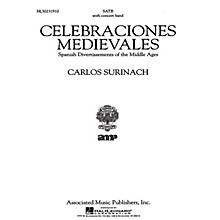 Associated Celebraciones Medievales (Vocal Score) SATB Score composed by Carlos Surinach